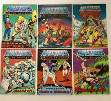 Lot of 6 Original 1st Issue 1982 Mini Comic Books