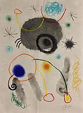 Attributed to: JOAN MIRO (Spanish, 1893-1983)