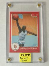 1985 Star Custom MICHAEL JORDAN Rookie ERROR Card