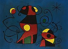 Attributed to: JOAN MIRO (Spanish, 1893-1983)