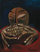 Attributed to OSWALDO GUAYASAMIN (Ecuatorian, 1919-1999)
