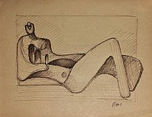 Attributed to: HENRY MOORE (British, 1898-1986)