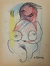 Attributed to: WILLEM DE KOONING (Dutch 1904-1997)
