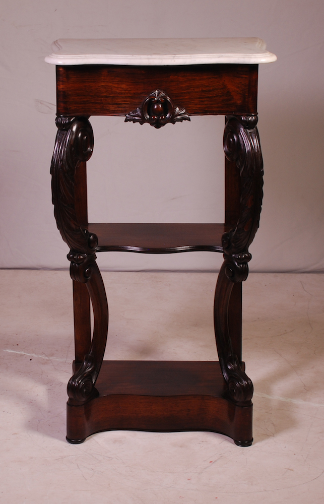 A mahogany three tier open shelf 19th century Home furniture auctions cape town