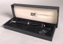 A Cased Mont Blanc Pen, Designed For Smirnoff,