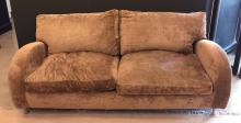 An Upholstered Two Seater Sofa, Modern,