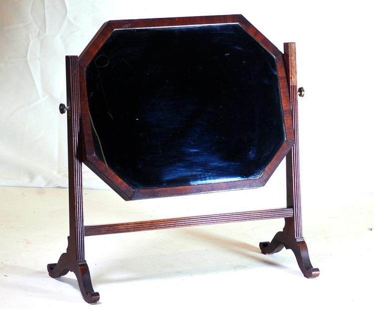 A victorian mahogany table top mirror late 19th century Home furniture auctions cape town