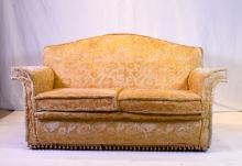 A Vintage Upholstered Two Seater Sofa, 20th Century