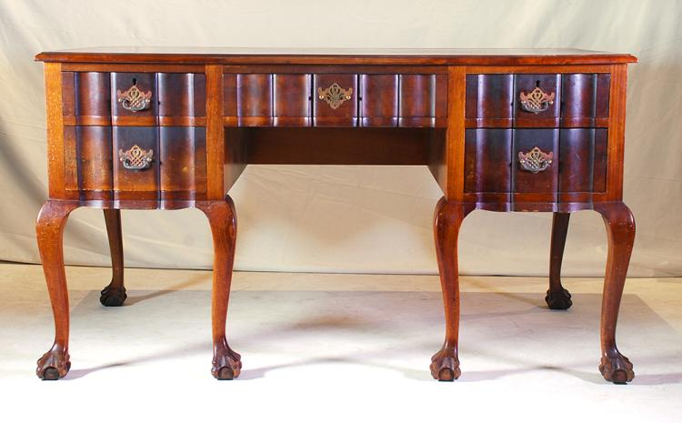 An emboya pedestal desk early 20th century Home furniture auctions cape town