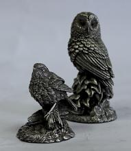 A Silver Figure Of An Owl, Country Artists, Birmingham, 1996