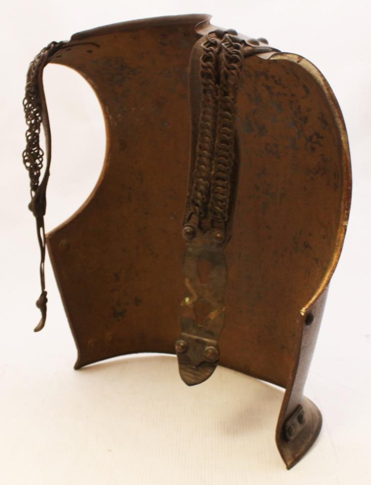 A French Iron Cuirassier Back-Plate, 19th Century