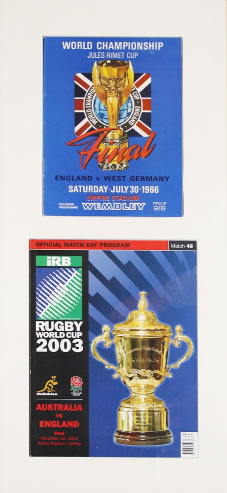 Two Official Match Day Programs