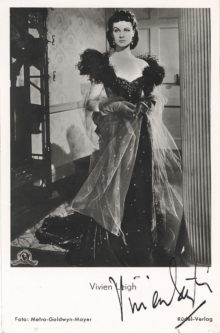 Vivien Leigh as Scarlett (Gone With The Wind)