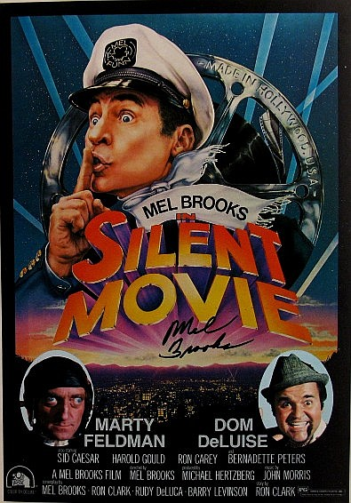 Mel Brooks Silent Movie Poster