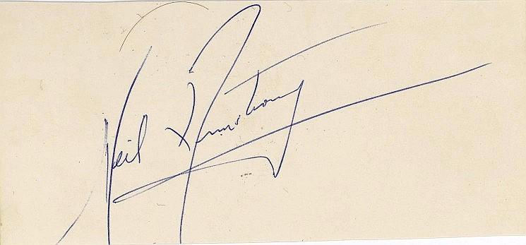 Rare Astronaut Group 2 autographs