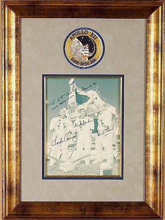 Apollo 12 Crew Signed photo