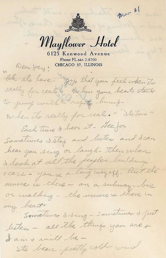 Dick York Letter