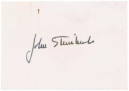 John Steinbeck