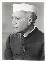 Jawaharlal Nehru Signed Photo