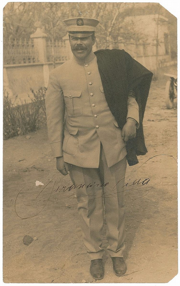 Rare! PANCHO VILLA SIGNED PHOTO & General Aultman Material