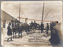 Uncommon Signed photo by President  William  McKinley and his Vice President G.A. Hobart