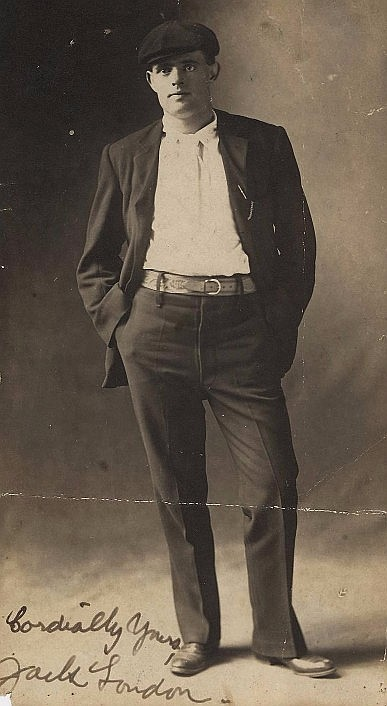 Rare Jack London Signed Photo and Letter