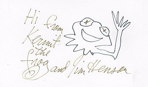 Original Henson Sketch of