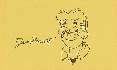 Original Dan Parent Archie Sketch