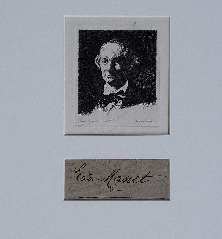 Edouard Manet Signature and Art