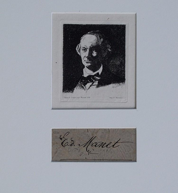 Edouard Manet Signature and Art