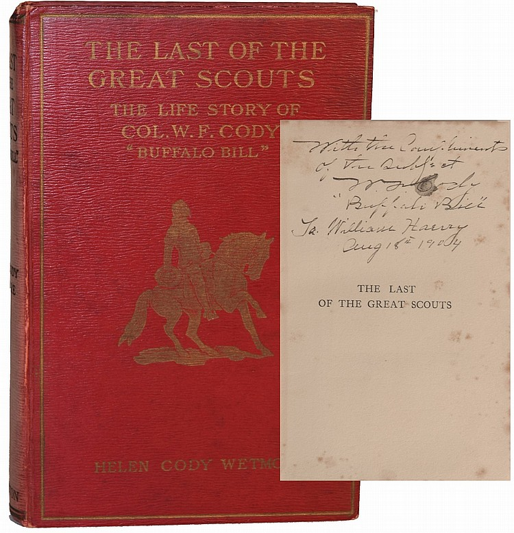 Buffalo Bill signed Book