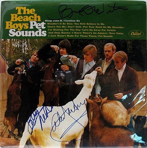 Beach Boys Signed Album