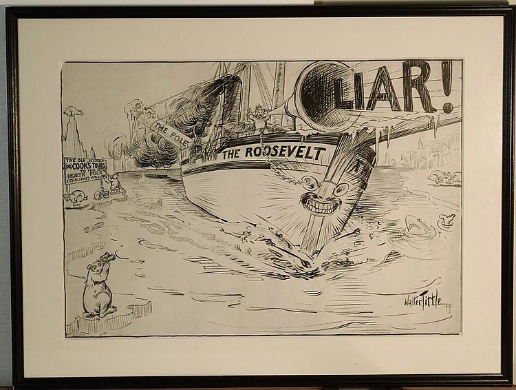 Walter Tittle - Roosevelt Illustration