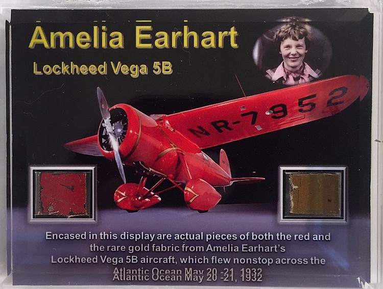 Amelia Earhart Fragments