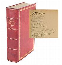 Lincoln-Douglas Debates Signed by William Howard Taft
