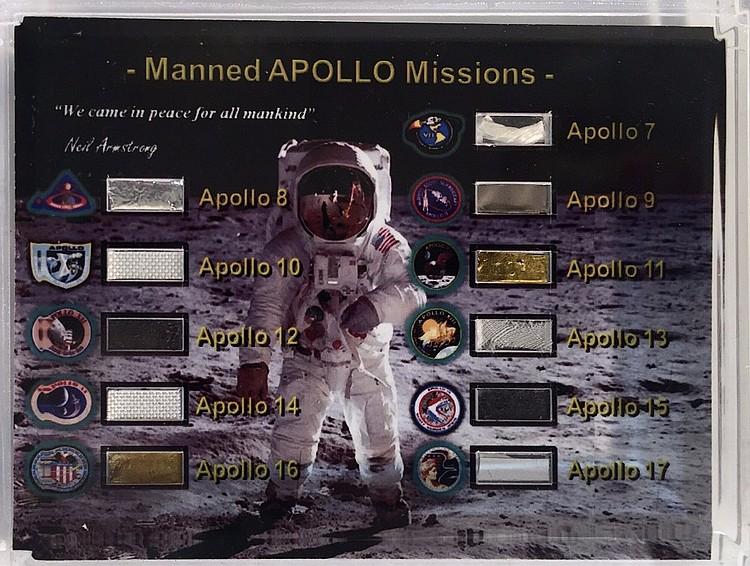 Eleven Apollo Missions 7-17