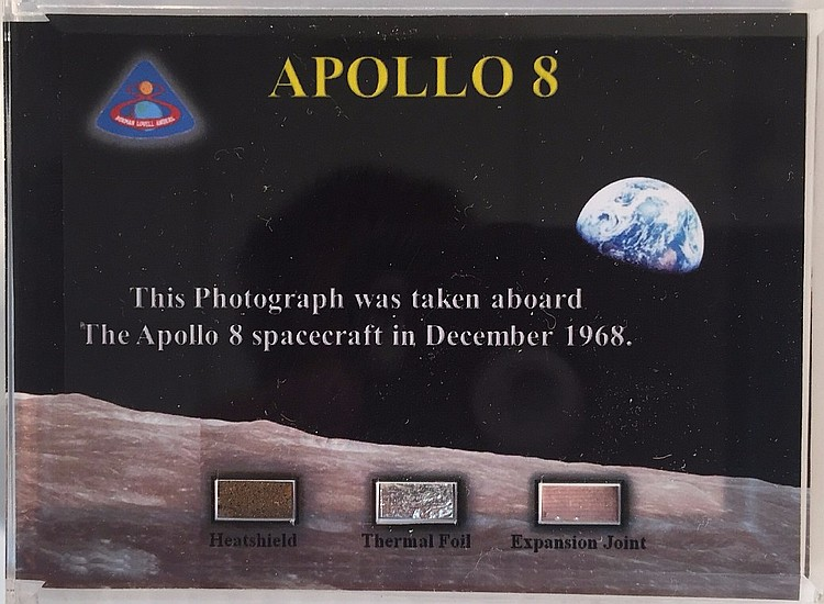 Set Of Eleven  Fragment Sets from Each Appolo Mission