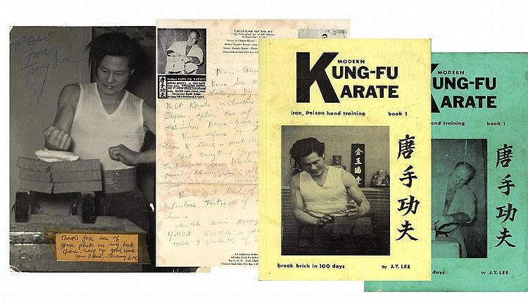 Important [Bruce Lee] James Yimm Lee, Archive related to the Infamous fight with Wong Jack Man