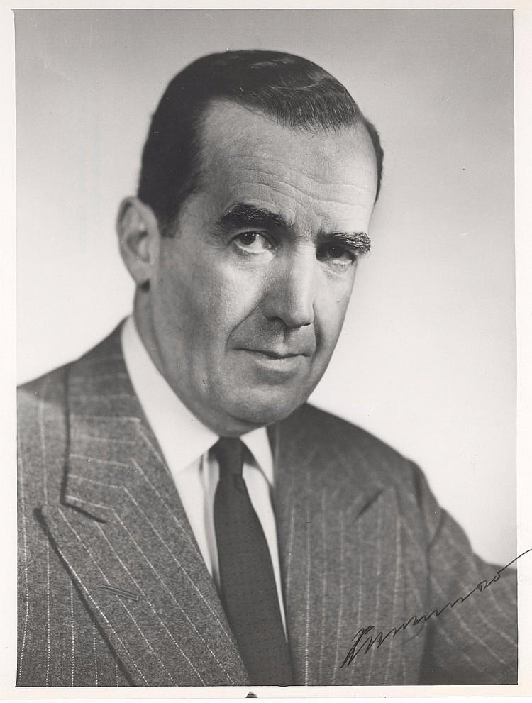 Edward R. Murrow Signed Photo