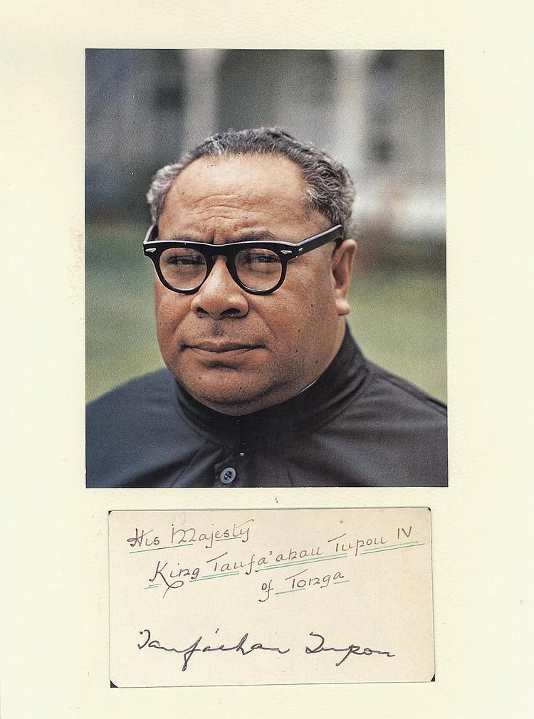 King of Tonga (Taufa'ahau Tupou IV)