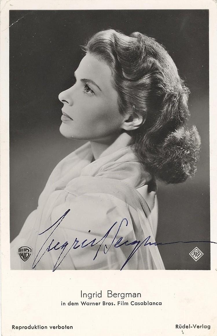 Ingrid Bergman Vintage SP (Casablanca)