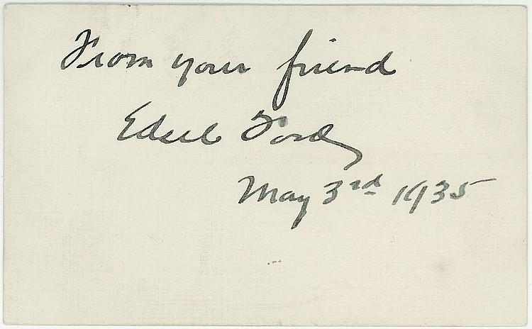 Henry Ford SP/ Edsel
