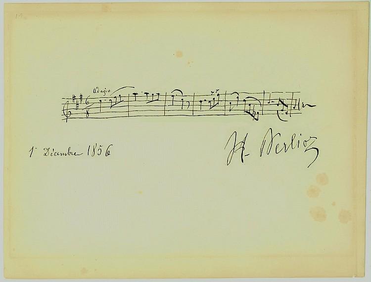 Hector Berlioz Rare AMQS