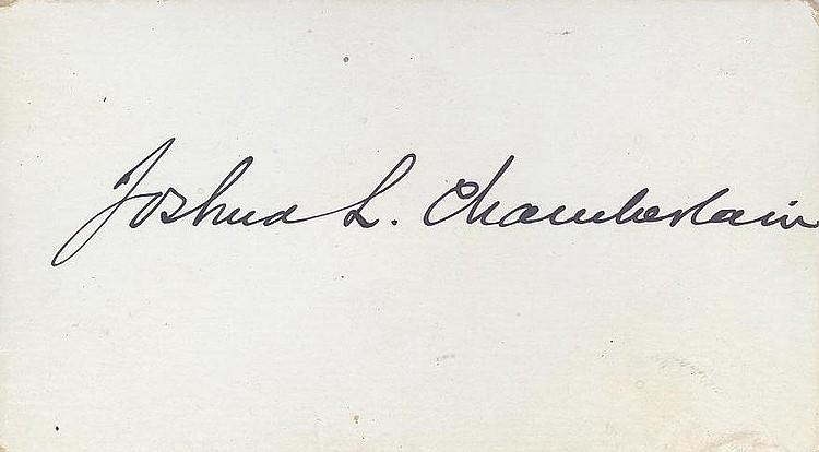 Joshua L. Chamberlain Hero of Gettysburg