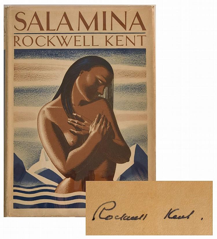 Rockwell Kent. Salamina/ Signed Copy