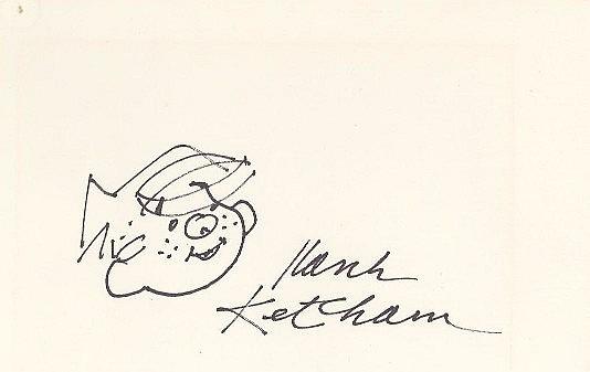 Hank Ketcham Original