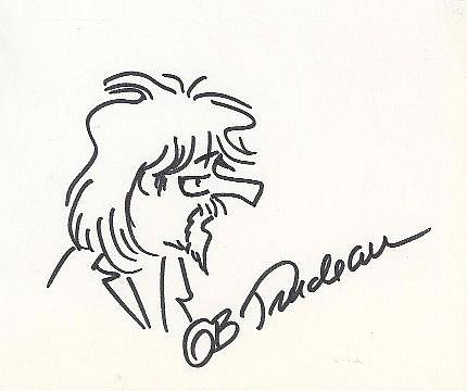 G. B. Trudeau Sketch