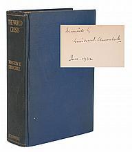 Winston Churchill Signed Book /World Crisis