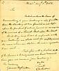Washington Docketed letter