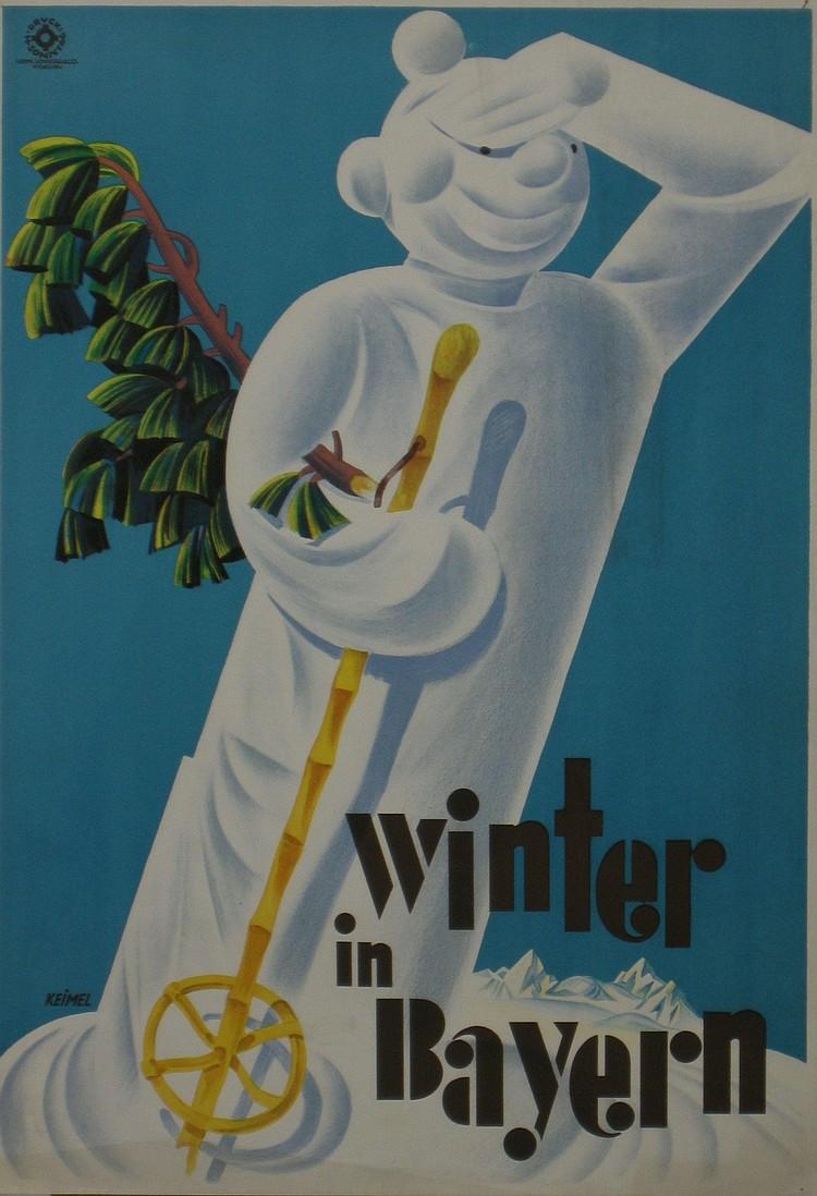 Keimel (Hermann 1889-1948) Winter in Bayern,